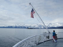 Southest Аляска внутри прохода Стоковые Изображения RF