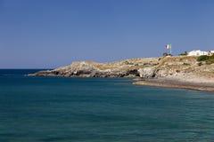 Southest Italian coast in Puglia region Stock Image