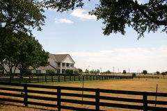Southfork Ranch nahe Dallas Lizenzfreie Stockbilder