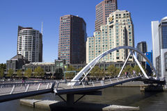 Southgate bridge, Melbourne Stock Photography