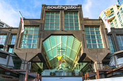 Southgate shopping mall entrance Royalty Free Stock Image
