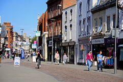 Southgate Street, Gloucester. Royalty Free Stock Image