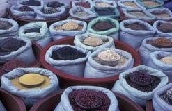 SOUTHKOREA SEOUL MARKET FOOD GRAIN Stock Photos