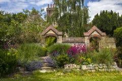 Southover-Gutshof-Gärten in Lewes Lizenzfreie Stockfotografie