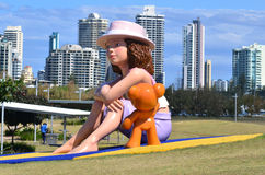 Southport Broadwater Parklands Gold Coast Queensland Australien Royaltyfri Foto