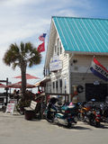 Southport Carolina Marina del nord Immagini Stock Libere da Diritti