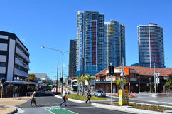 Southport CBD Gold Coast Queensland Australien Stockbilder