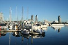 southport för marina för Australien kustguld royaltyfria bilder
