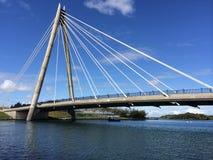 Southport Marine Way Bridge Royaltyfria Bilder