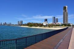 Southport Pier Gold Coast Queensland Australia Lizenzfreie Stockfotografie