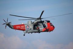 Southport pokaz lotniczy 2015 Sea King helikopter fotografia royalty free