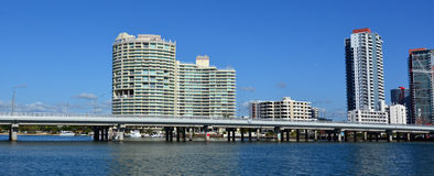 Southport Skyline - Gold Coast Queensland Australia Royalty Free Stock Photo