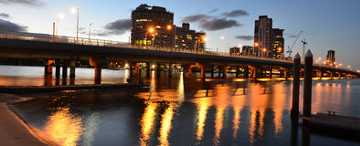 Southport Skyline - Gold Coast Queensland Australia Stock Photos
