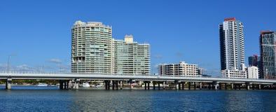 Southport-Skyline - Gold Coast Queensland Australien Lizenzfreies Stockfoto