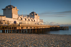 Southsea Pier. In Southsea, Portsmouth, Hampshire Royalty Free Stock Image