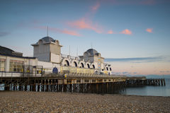 Southsea Pier. In Southsea, Portsmouth, Hampshire Stock Photo
