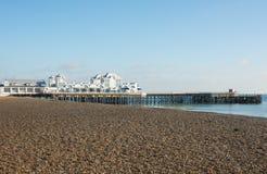 Southsea-Pier, Hampshire, England Lizenzfreies Stockbild