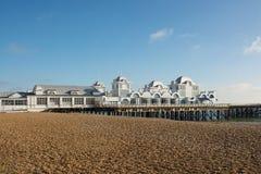 Southsea-Pier, Hampshire, England Lizenzfreie Stockbilder