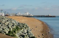 Southsea-Pier, Hampshire, England Stockbild