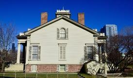 Southside av Clarke House Arkivbild