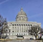 Southside del capitolio del estado de Missouri fotografía de archivo