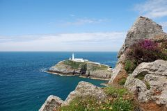Southstack Lighthouse 77 Stock Images