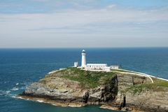 Southstack Lighthouse 78. A view of southstack lighthouse on anglesey, north wales Stock Photography