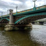 Southwark桥梁伦敦 免版税库存照片