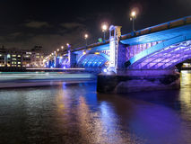 Southwark bridge - London Royalty Free Stock Images