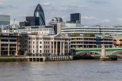 Southwark Bridge London England Royalty Free Stock Images