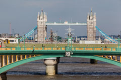 Southwark Bridge London England Royalty Free Stock Photos