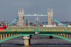 Southwark Bridge London England Stock Photo