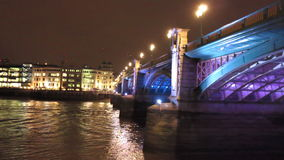 Southwark Bridge in London Royalty Free Stock Photo