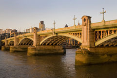 Southwark Bridge, London, UK Stock Image