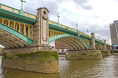 Southwark Bridge, London, UK Royalty Free Stock Photo