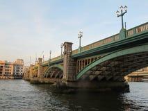 Southwark Bridge in London Royalty Free Stock Photo