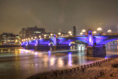 Southwark Bridge, London Royalty Free Stock Photo