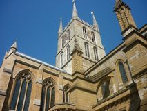 Southwark Cathderal a Londra Regno Unito fotografia stock