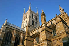 Southwark cathedral. General view of Southwark cathedral, London Stock Photos