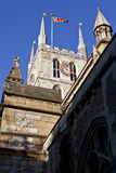 Southwark Cathedral in London Stock Photography