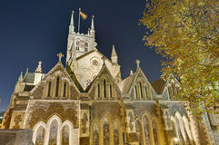 Southwark Cathedral at London, England Stock Images