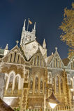 Southwark Cathedral at London, England Stock Image
