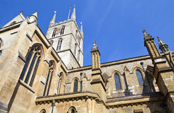 Southwark Cathedral in London Stock Photos