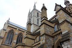 Southwark Cathedral, London Stock Images