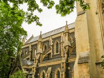 Southwark Cathedral, London. Southwark Cathedral - Anglican Cathedral on the south bank of the River Thames. London, United Kingdom royalty free stock photography