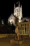 Southwark Cathedral at Night Royalty Free Stock Photography
