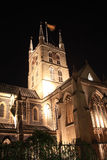 Southwark Cathedral at night Stock Photo