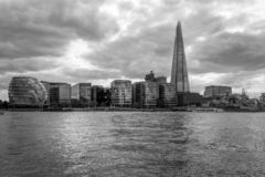 Southwark under dramatic clouds, London royalty free stock photography