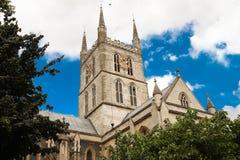 Southwark-Kathedrale, London, Vereinigtes Königreich Lizenzfreies Stockfoto