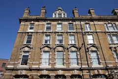 Southwark, London. Southwark borough of London - apartment building, old residential architecture stock image